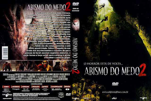 Capa DVD Abismo do Medo 2