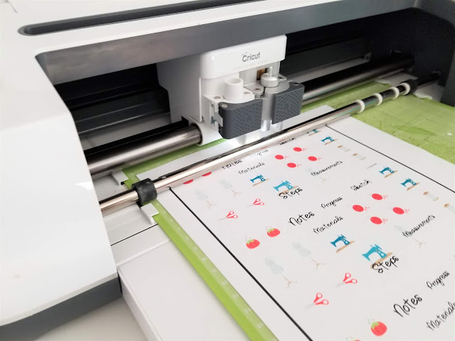 how to make stickers with cricut