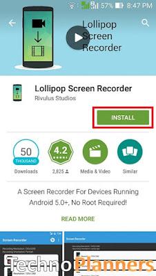 Record Screen on Asus Zenfone