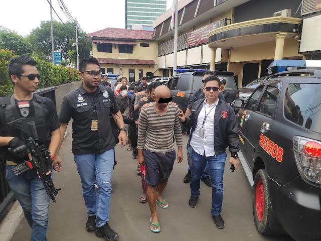 Lagi, 11 Preman Debt collector Diciduk Polisi