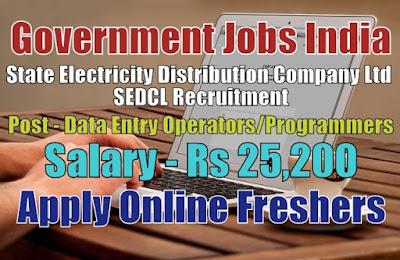 SEDCL Recruitment 2020