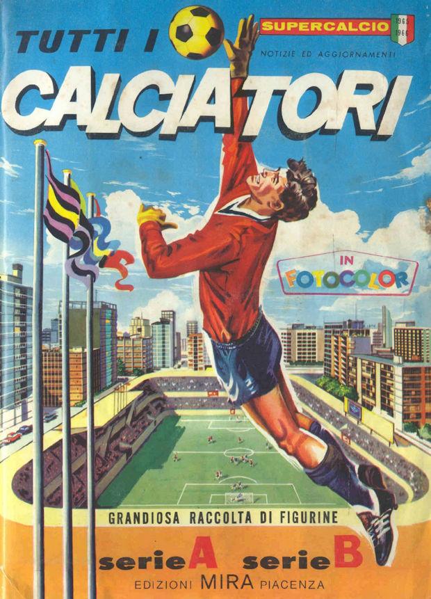 MAIOLI FOGGIA FIGURINA CALCIATORI MIRA 1965//66