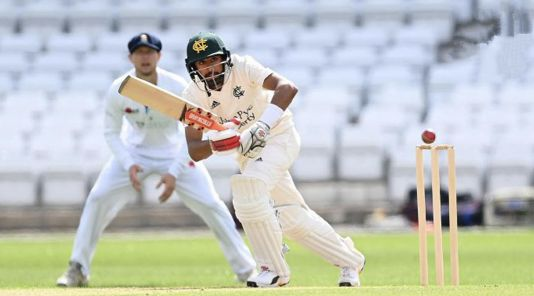 Haseeb Hameed scores centuries in both innings as Nottinghamshire save the game against Worcestershire