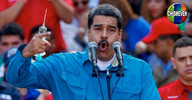 Maduro anuncia que probará con venezolanos las vacunas chinas y rusas