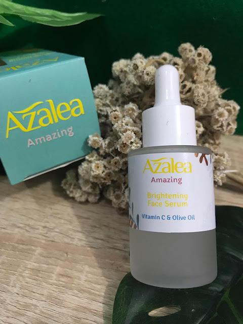 azalea brightening face serum