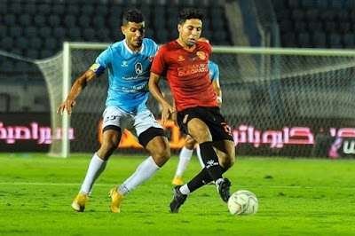 اهداف مباراة غزل المحلة وسيراميكا كليوباترا (1-1) الدوري المصري