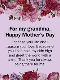 Happy women's day grand mom