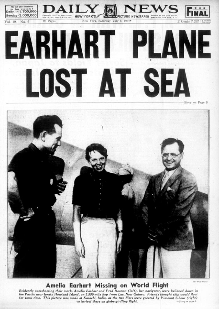 Shocking Pictures Prove That Amelia Earhart, The Famous Aviator Who Vanished 80 Years Ago, Survived Her Crash