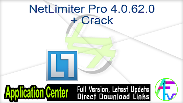 NetLimiter Pro 4.0.62.0 + Crack