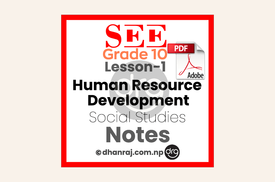 Human-Resource-Development-Exercises-Unit-1-Lesson-1-SEE-Grade-10