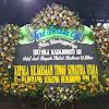 Papan Bunga Ucapan Duka Cita Kepala Kejaksaan Negeri Sumatera Utara