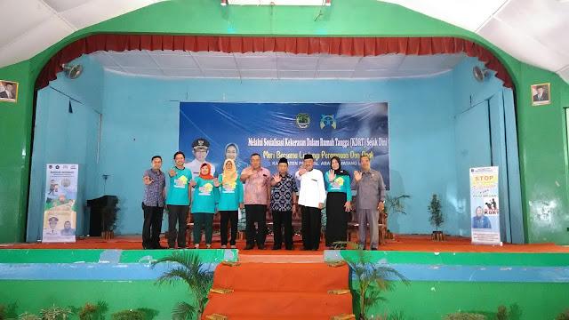 Kunjungi PALI Kementerian PPPA Gelar Sosialiasi KDRT