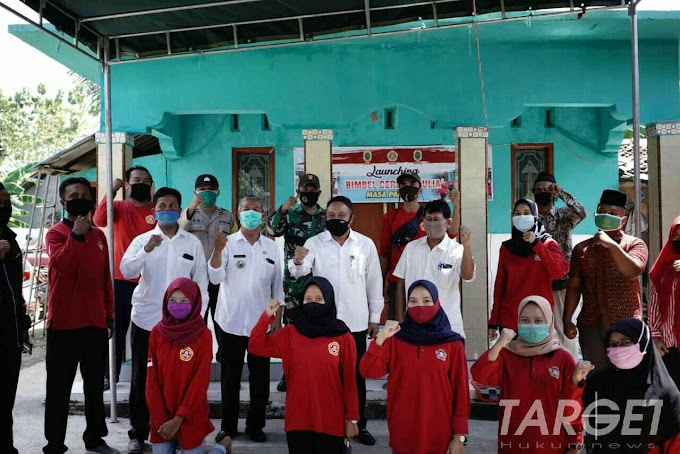 Safin Hadiri Launching Bimbel Cerdas Mulia Karang Taruna Sumbersari
