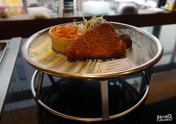 Teppanyaki Miyachiku, Fukuoka