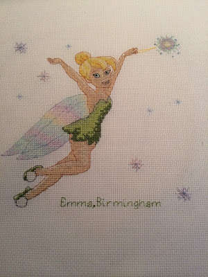 Tinkerbell Cross Stitch