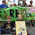 Эко-активисты остановили движение на дорогах Великобритании
