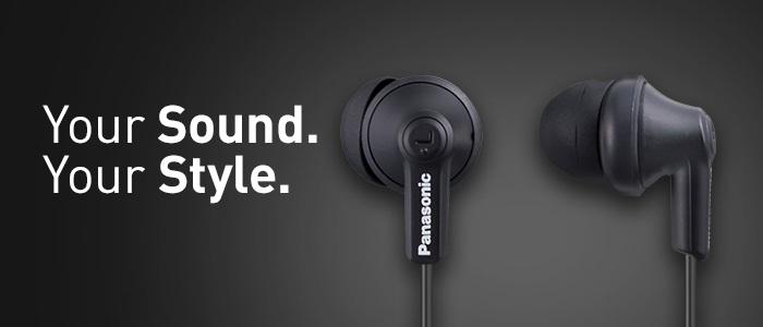 Panasonic RP-HJE120 ErgoFit - Comfortable Earphones