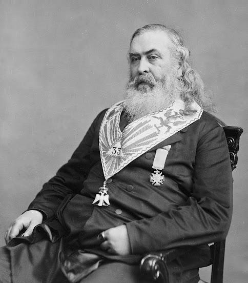 freemasonry treason confederacy slavery usury conspiracy Albert Pike luciferianism satanism KKK