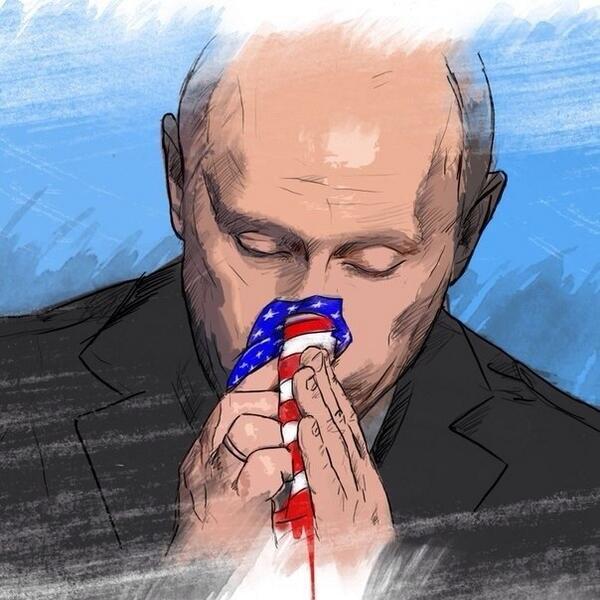 Obama compara Putin a Saddam Hussein!