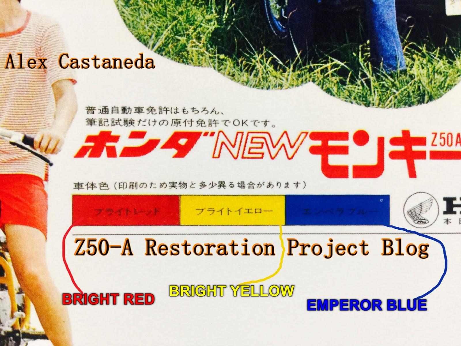 Honda Z50A Mini Trail - Restoration Project