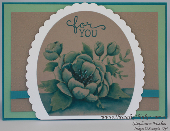 Stampin Up Australia, #thecraftythinker, #GDP037, Birthday Blooms, Watercolouring, Stampin Up Demonstrator
