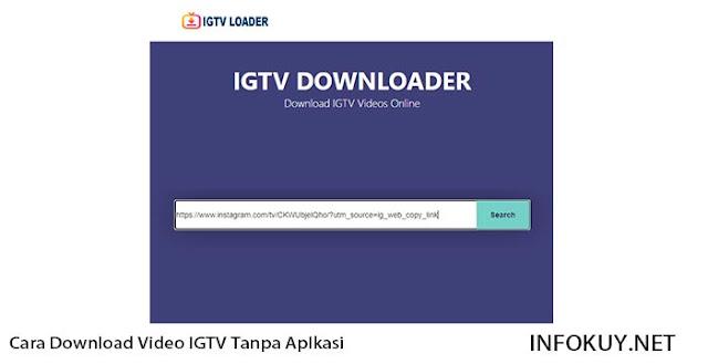 Cara Download Video IGTV Tanpa Aplikasi di PC #1