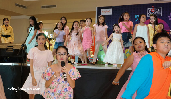 summer voice recital - Voice Chords Music Studio - Bacolod music studio - Bacolod voice coach - Bacolod mommy blogger - opening production number - believer