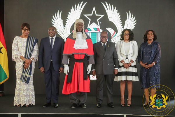 """Bring Honour To The Judiciary, Guard Jealously Its Independence"" – President Akufo-Addo To Chief Justice Anin Yeboah"