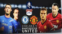 Hasil Video Chelsea VS Manchester United, The FA Cup 1 April 2013