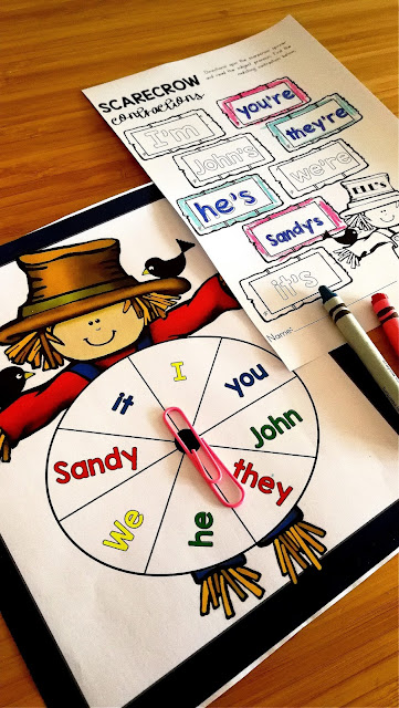language arts game for kindergarten, first grade, 2nd grade