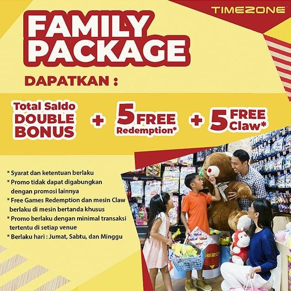 TIMEZONE Promo Paket Keluarga [Family Package] September 2020