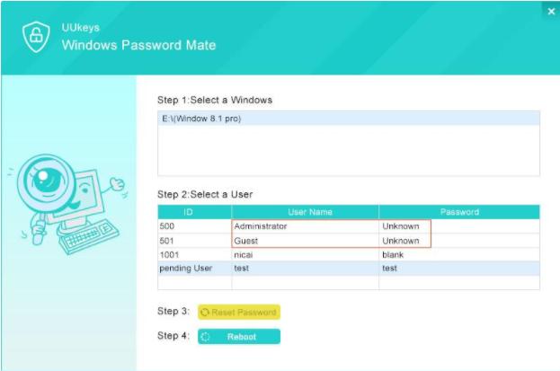 UUkeys Password 3