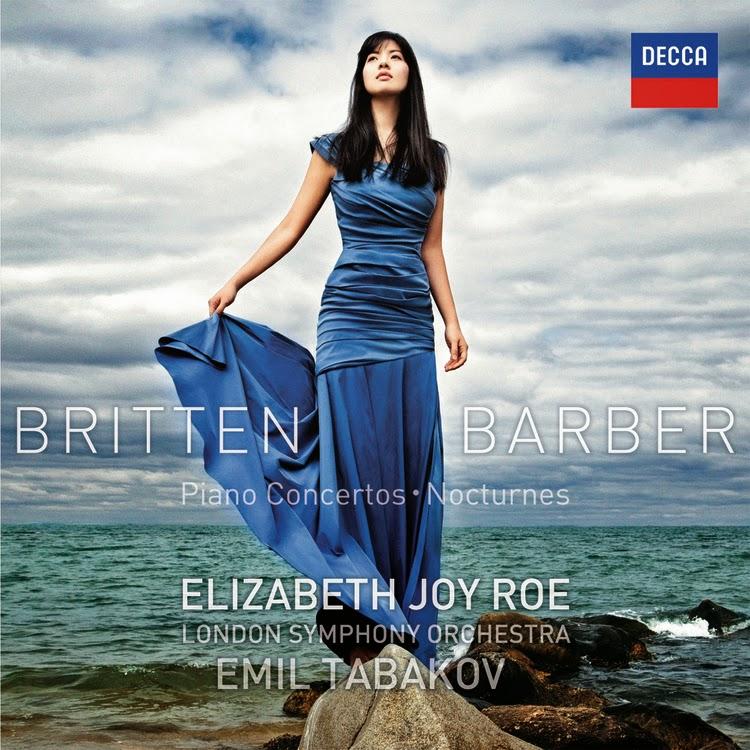 "f3761867b53 Elizabeth Joy Roe   London Symphony Orchestra   Emil Tabakov BRITTEN -  BARBER Piano Concertos - Nocturnes. """