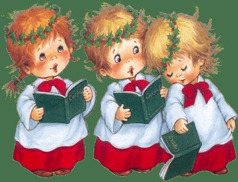 Imagenes infantiles de navidad png for Dibujos postales navidad ninos