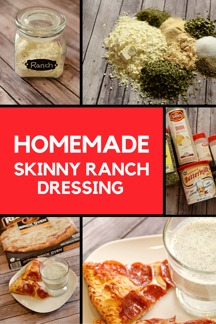 Housewife Eclectic: Homemade Skinny Ranch Dressing