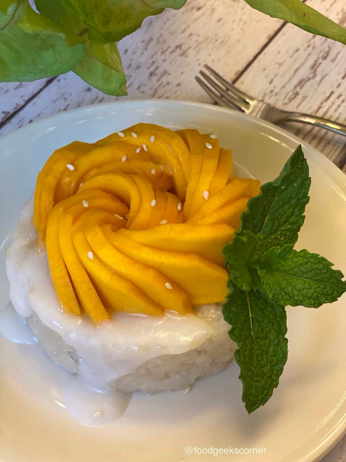 Mango Sweet Rice (Mango Sticky Rice)