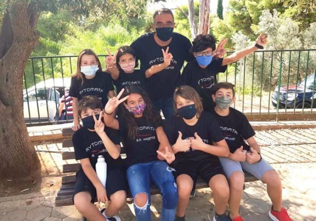 Η ομάδα ρομποτικής του Δημοτικού Σχολείου Αγίου Αδριανού κατέλαβε την 2η θέση σε διαγωνισμό