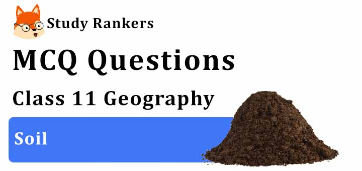 MCQ Questions for Class 11 Geography: Ch 6 Soil