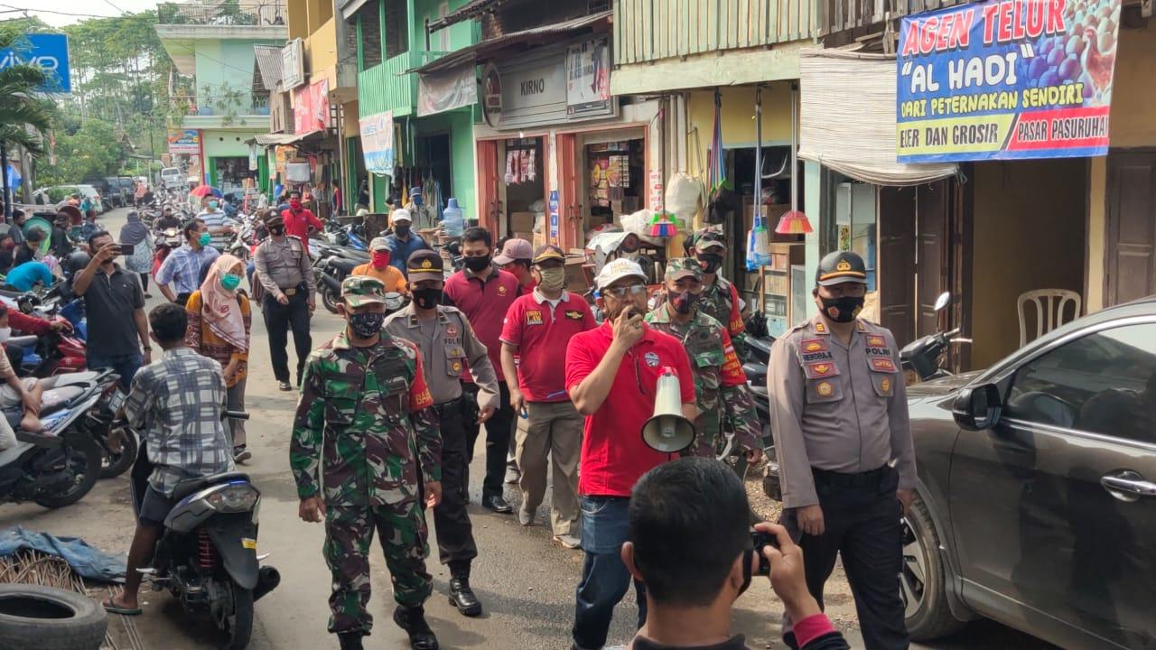 Satgas Covid-19 Kecamatan Penengahan, Imbau Warga Selalu Pakai Masker