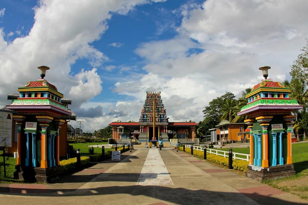 Nadi, Fiji, 1996  The Sri Siva Subramaniya Temple, one of several Hindu temples in Fiji