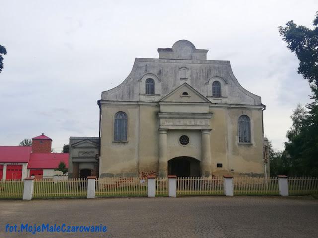 Synagoga z połowy XVIII wieku w Orli woj. podlaskie - CZYTAJ DALEJ
