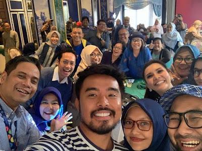 suasana blogger gathering yang diadakan TRAC dan KompasCom