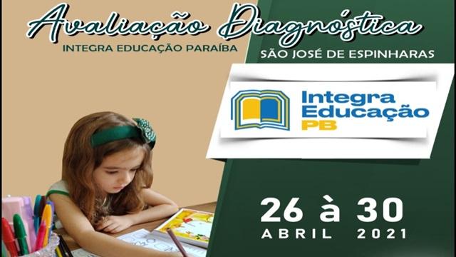 Alunos da rede municipal de São José de Espinharas participarão de programa de Avaliação Diagnóstica