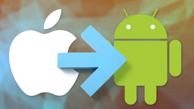 Cara Beralih Dari iPhone ke Ponsel Android