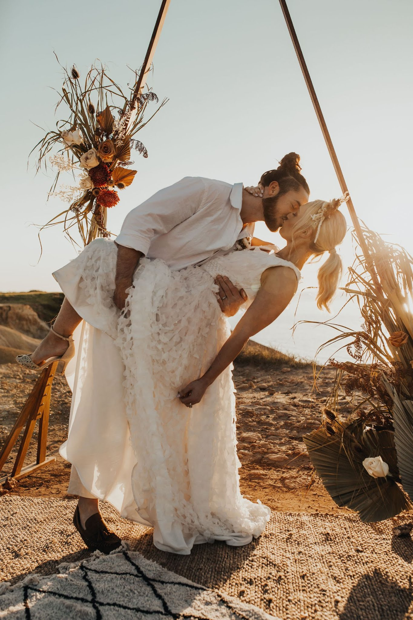 STYLED SHOOT: BOHEMIAN ELOPEMENT INSPIRATION | FOR FREE-SPIRITED BRIDES + GROOMS ADELAIDE SA