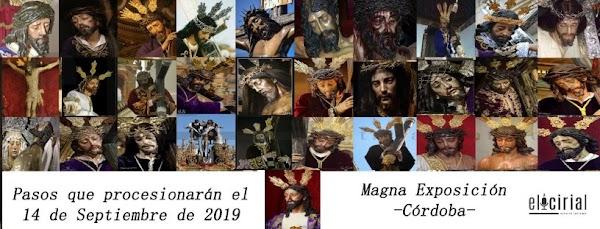 Toda la Informacion definitiva de la Procesión Magna de Córdoba del próximo 14 de Septiembre del 2019