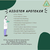 Lowongan Asisten Apoteker Klinik Utama Kartini