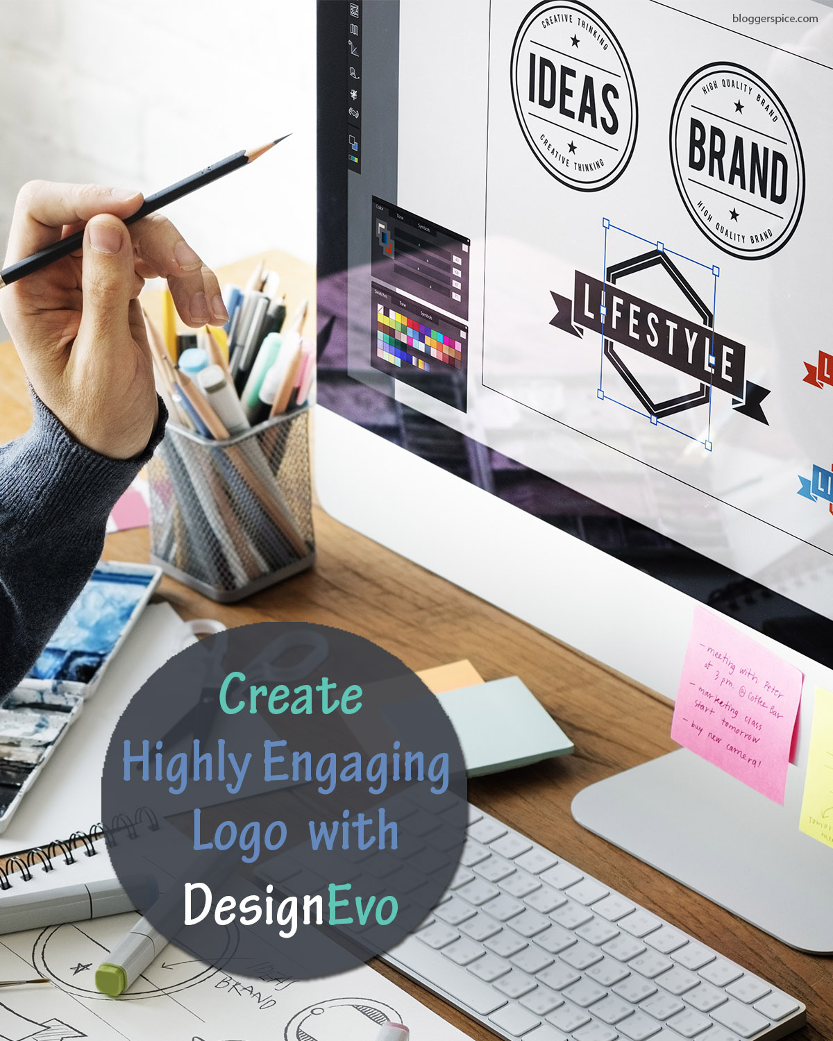 Create Your Own Logo For Free Using Designevo For Your Blog