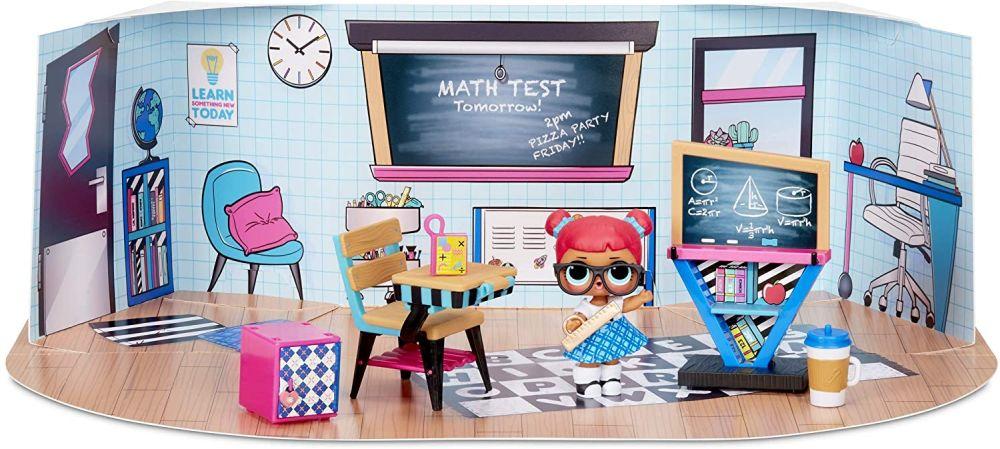 Парта и школьная доска мебель для Лол Classroom с куклой Teacher's Pet