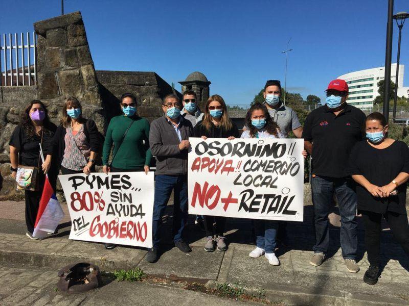 Osorno: Comercio al borde del colapso por extensa cuarentena